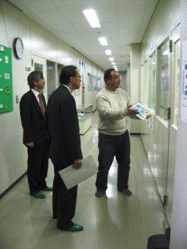 マイクロ化センター訪問