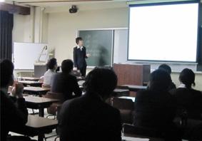 卒研発表(生命情報工学科の様子)1
