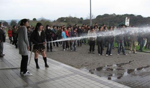 3 消火栓放水