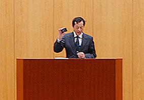 仁川研究院長の挨拶