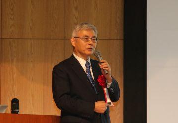古川情報処理学会会長による講演会