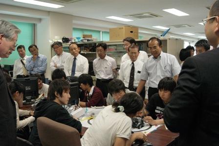 7.ロボット製作授業