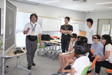 プログラムの様子安永先生