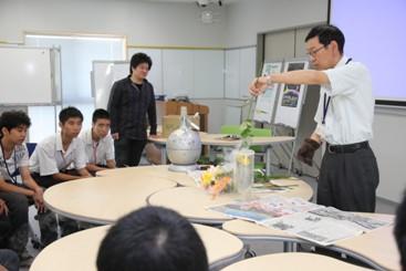 プログラムの様子小田部先生