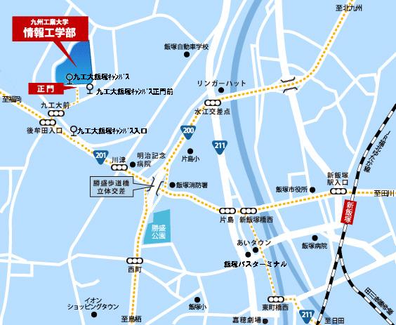 九州工業大学 情報工学部|詳細図