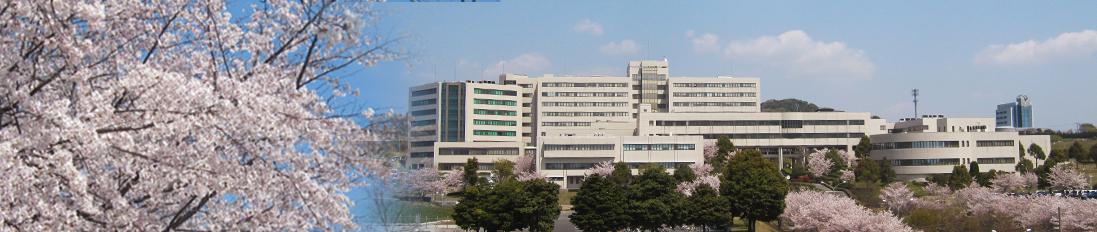 大学外観(春)