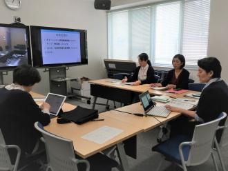 女性研究者支援事業説明会の様子