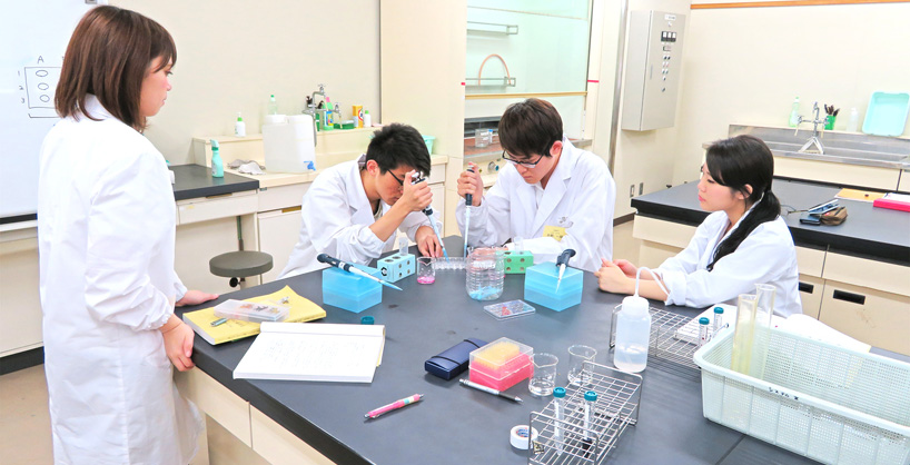 生命化学工学科 イメージ