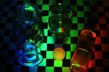 3次元ディスプレイを用いた照明シミュレーション